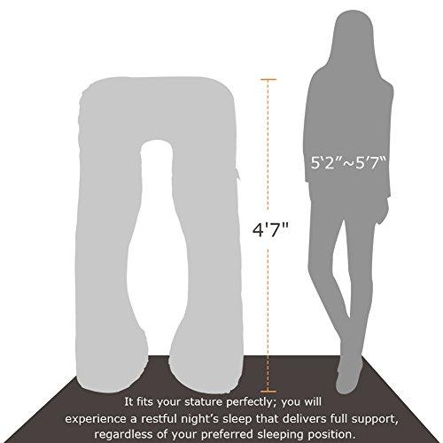 Ang Qi Total Body Maternity Pregnancy Pillow U Shape
