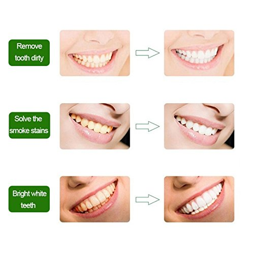 Teeth Whitening Charcoal Powder, Natural Activated Charcoal Teeth Whitener Powder with Bamboo Brush Oral Care Set (1.05 oz) 8
