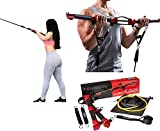 TENSION TONER: Develop Total Body Strength and Lean Muscle with Over 70 Different Full Body Exercises - Patented Portable Home Gym