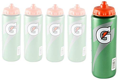 Gatorade Squeeze Bottle, G Series, 20oz (5 Pack)