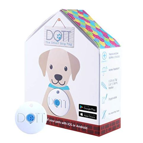 DOTT-The-Smart-Dog-Tag-Bluetooth-Tracker-for-Dogs-and-Cats-Pet-Finder-Virtual-Leash-No-Subscription-NOT-A-GPS-Tracker