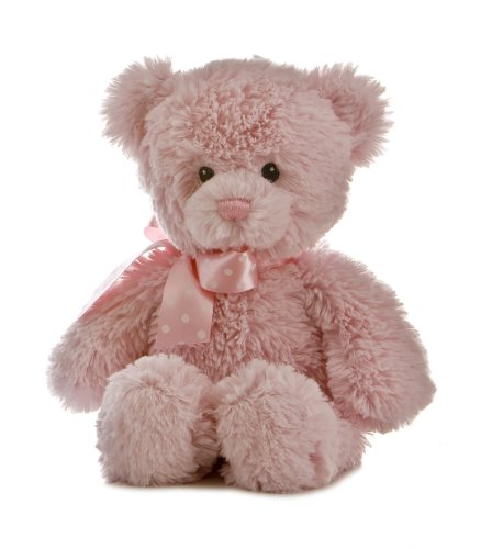 Aurora Plush Baby 12' Yummy Pink Bear - 20507