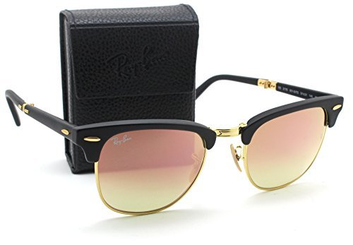 41l0fcwbhFL Model: RB2176 CLUBMASTER FOLDING FLASH GRADIENT. Style: Clubmaster Folding. Original Ray-Ban Packaging, Box, Case and Cleaning Cloth included.