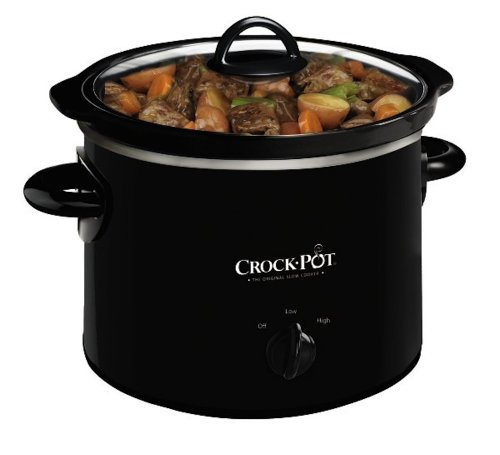 Crock-Pot SCR200-B Manual Slow Cooker, 2 Quart
