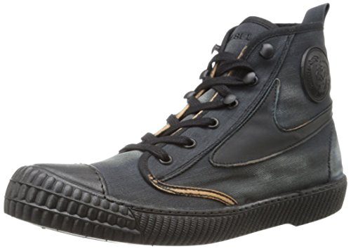 41l3tY235VL Brand: Diesel shoes male Model: Y01032PR216 T6059 Material: Suede/Leather/Textile Canvas Color: Blue/White Blue