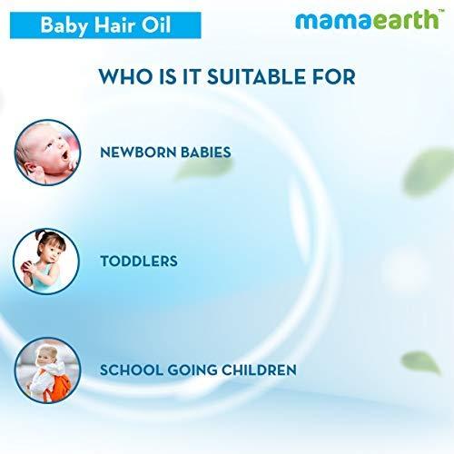 41l7VWziWEL Mamaearth Nourishing Child Hair Oil, with Almond & Avocado Oil - 200 ml