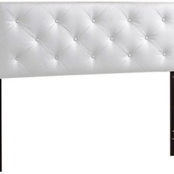 Baxton Studio Bedford Queen Sized Headboard, White