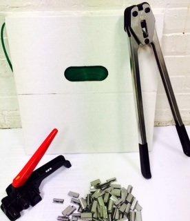 Poly Mini PET Strapping Kit 950 LBS Break Strength