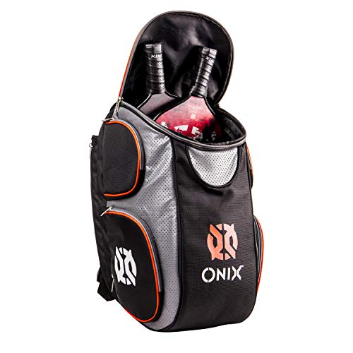 Onix Pickleball Durable Backpack is Designed to Carry Paddles, Balls, Apparel, and Water Bottles