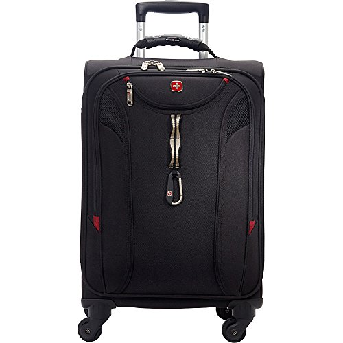 SwissGear Travel Gear 1900 Spinner Carry-On Luggage - eBags Exclusive (Black)