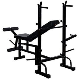 Health Fit India 8 in 1 Double Support Multipurpose Weight Lifting Bench(Incline/Decline/Flat/Leg Exerciser/Lats…