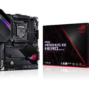 ASUS ROG Maximus XII Hero Z490 (WiFi 6) LGA 1200 (Intel 10th Gen) ATX Gaming Motherboard, 14+2 Power Stages, DDR4 4800…