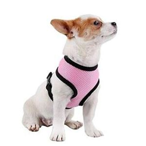 Pet Club No Pull Dog/Cat Harness and Leash Set for Walking, Padded Dog Vest Harnesses for Puppy Small Dogs/Cats, Cat Dog Training Collar Pink,XS,S
