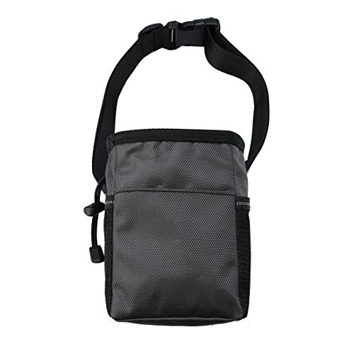 uxcell-Dog-Treat-Training-Pouch-Polyester-Waist-Bag-with-Adjustable-Belt-Whistle-Clicker-Hook-Easily-Carries-Pet-Toys-Treat-Holder-Stylish-Multipurpose-Collapsible