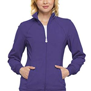 Cherokee Women's Infinity Zip Front Warm-up Jacket 5 Fashion Online Shop gifts for her gifts for him womens full figure