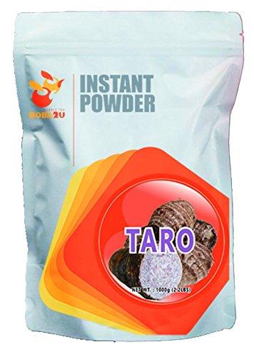 BOBA2U Bubble Tea - Instant Drink Powder (Taro) 2.2 lbs