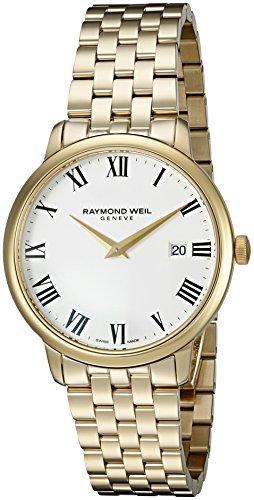 39d61e3ce Raymond Weil Men's 'Toccata' Swiss Quartz Stainless Steel and Dress Watch  ...