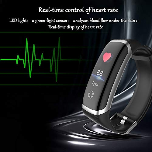 Smart Watch for Android and iOS Phone,Fitness Tracker Watch with Heart Rate Blood Pressure Watch Waterproof Smart… 4