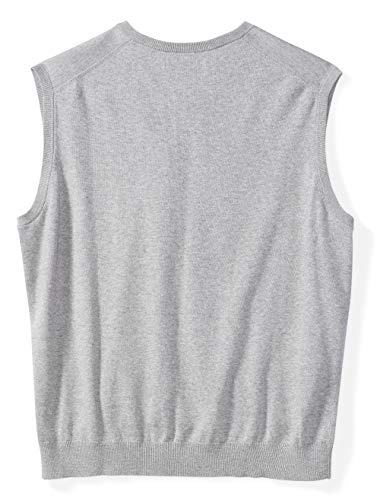 Amazon Essentials Men's V-Neck Sweater Vest fit by DXL