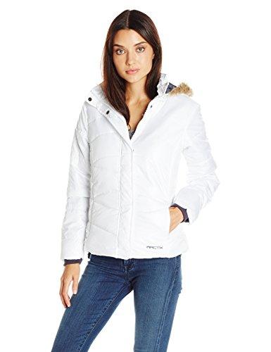 Arctix Women's Pearl Quilted Jacket, White, Medium