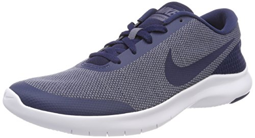 Nike Mens Flex Experience RN 7 Running Shoes (10.5), Midnight Navy/Light Carbon