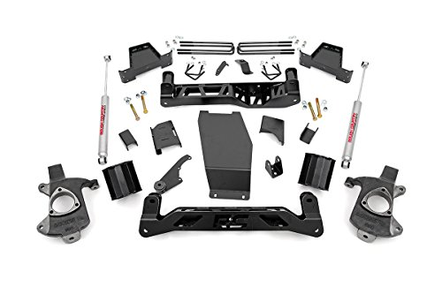 Rough Country - 226.22 - 6-inch Suspension Lift Kit (Factory Cast Steel Control Arm Models) w/ Performance 2.2 Shocks