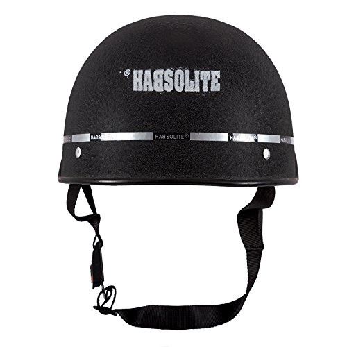 Habsolite All Purpose Safety Helmet with Strap (Black, Free Size) 3