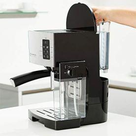 Espresso-Machine-Latte-Cappuccino-Maker-10-pc-All-In-One-Espresso-Maker-with-Milk-Steamer-Incl-Coffee-Bean-Grinder-2-Cappuccino-2-Espresso-Cups-SpoonTamper-Portafilter-w-Single-Double-Shot-Filter-Bask