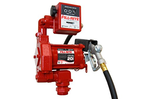 Fill-Rite FR701V Heavy Duty AC Transfer Pumps, 20 GPM, 115 VAC