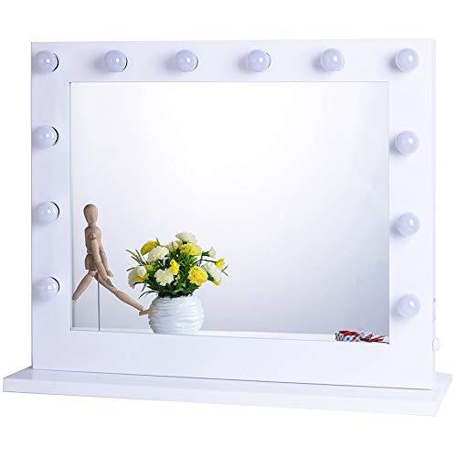 Chende Hollywood Lighted Makeup Vanity Mirror Light, Makeup Dressing Table Vanity Set...