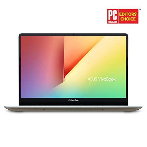 ASUS VivoBook S15 15.6' Slim and Portable Laptop, Intel Core i5-8250U Processor (up to 3.4Ghz), 8GB DDR4, 256GB SSD, NanoEdge Bezel, Windows 10 - S530UA-DB51-IG, Icicle Gold