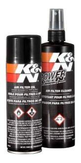 Kit Limpeza Aerosol Lubrificacao K&N 99-5000 Filtro Ar