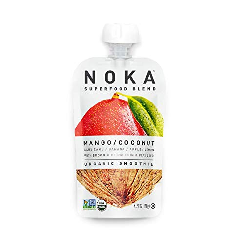 100% Organic Fruit And Veggie Smoothie Squeeze Packs