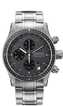 Bremont Titanium 247 Boeing Watch Model BB247-TI-GMT/DG/BR