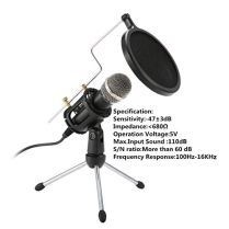 Condenser-MicrophoneNASUM-35mm-Recording-Microphone-Plug-and-PlayComputer-Microphone-with-Filter-Suitable-for-Voice-RecordingPodcastingSkypeYouTubeGamesGoogle-Voice-Search