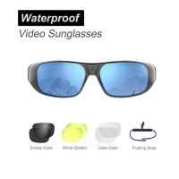 OHO 4K Ultra HD Water Resistance Video Sunglasses, Sports Action Camera with Built-in 32GB Memory and Polarized UV400…