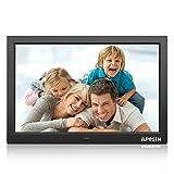 Digital Photo Frame, APESIN 15.4 inch 1440 x 900 Pixels HD Screen(Black)