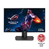 ASUS ROG PG279Q 27' Gaming Monitor WQHD 1440p IPS 165Hz DisplayPort Adjustable Ergonomic EyeCare G-SYNC