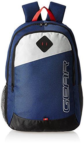 41mPzQRqFrL - Gear 14 cms Blue Casual Backpack (MDBKPECO50504)