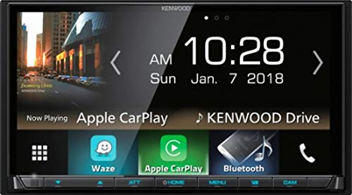 Kenwood DMX7705S Car Stereo Double Din Radio with Apple CarPlay Android Auto Bluetooth, 6.9'
