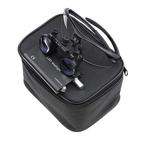 Bestlife three.5x420mm DentaL Medical Binocular Loupes with Head mild Lamp (Black), deal 50% off 41mYS2LpchL