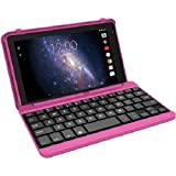 RCA 7 Voyager 1.3GHz 4Core 16G Android 5 Bluetooth 4 with Keyboard RCT6773W42B (Pink)