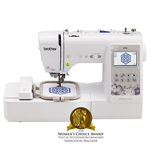 Brother Sewing Machine, SE600, Computerized Sewing and Embroidery Machine