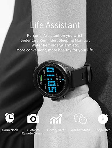 Fitness Tracker Activity Tracker Heart Rate Monitor Pedometer IP68 Sports Smart Watch Multifunction 9