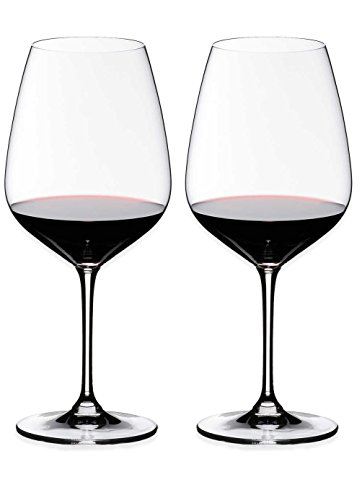 Riedel Heart to Heart Crystal Pinot Noir Wine Glass, Set of 2