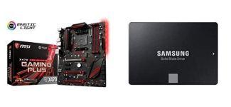 MSI Enthusiast Gaming AMD X470 Ryzen 2 AM4 DDR4 Onboard Graphics SLI ATX Motherboard (X470 Gaming M7 AC)