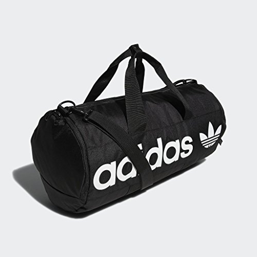 adidas Originals Paneled Roll Duffel Bag, Black, One Size 15 Fashion Online Shop gifts for her gifts for him womens full figure
