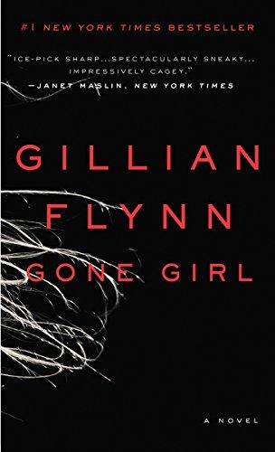 book cover gone girl gillian flynn black with white smoke