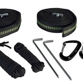 Lost-Valley-Camping-Hammock-Bundle-Includes-Mosquito-Net-Rain-Fly-Tree-Straps-Compression-Sack-Weighs-Only-4-Pounds-Perfect-for-Hammock-Camping-Lightweight-Nylon-Portable-Single-Hammock