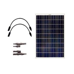 Grape Solar GS-100-EXP Off-Grid Solar Panel Expansion Kit, 100W